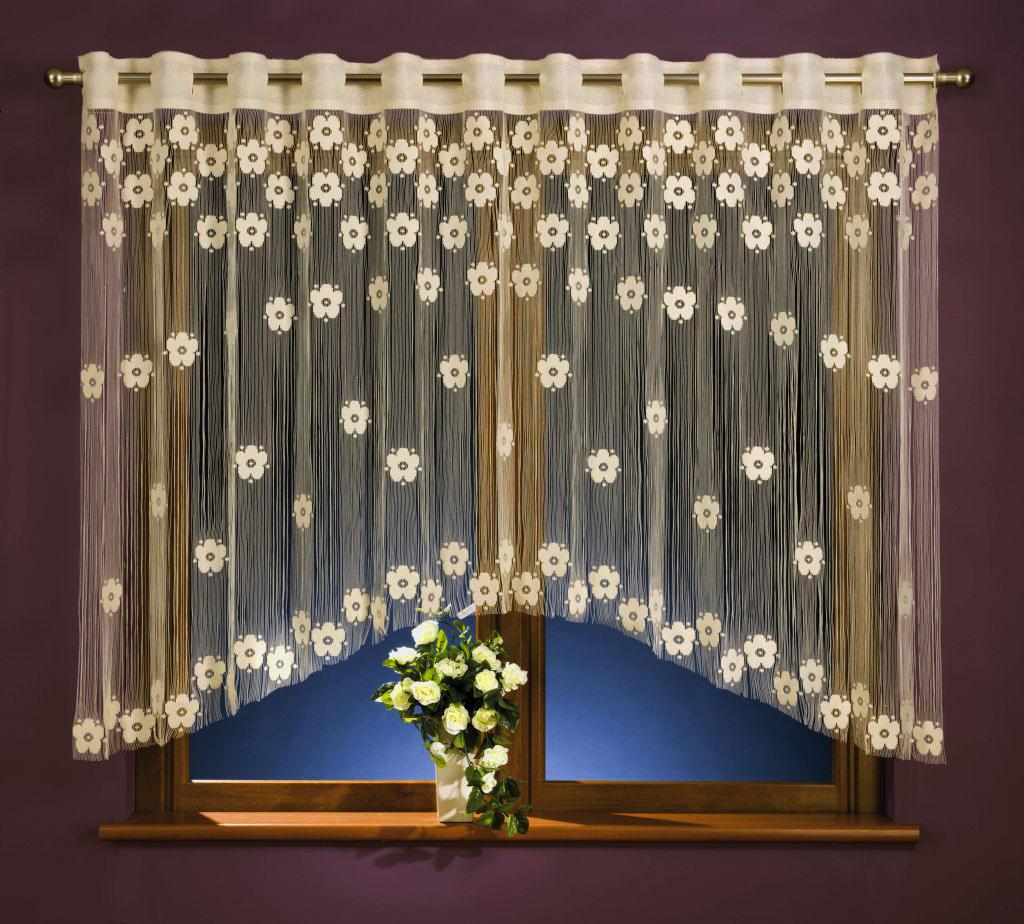 Купить Шторы Wisan, Классические шторы Maia Цвет: Кремовый, Польша, Тюль