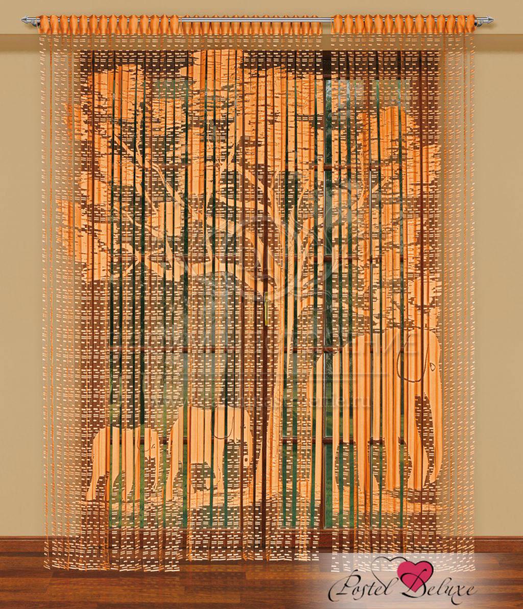 Купить Шторы Haft, Нитяные шторыFormosa Цвет: Оранжевый, Польша, Кисея