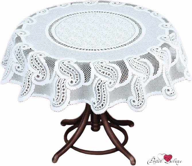Скатерти и салфетки Haft Скатерть Sharona Цвет: Белый (круглая 120 см) haft 206841 120