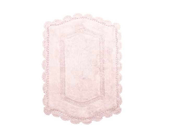 Коврики для ванной и туалета IRYA, Коврик для ванной Hena Pember Цвет: Розовый (60х90 см), Турция, Махра  - Купить