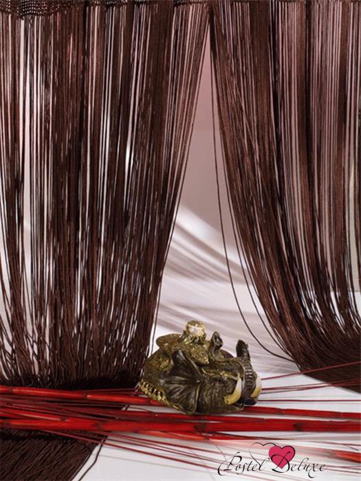 Шторы HomeDeco Нитяные шторы Постоянство Цвет: Шоколадный шторы homedeco нитяные шторы мудрость востока цвет белый