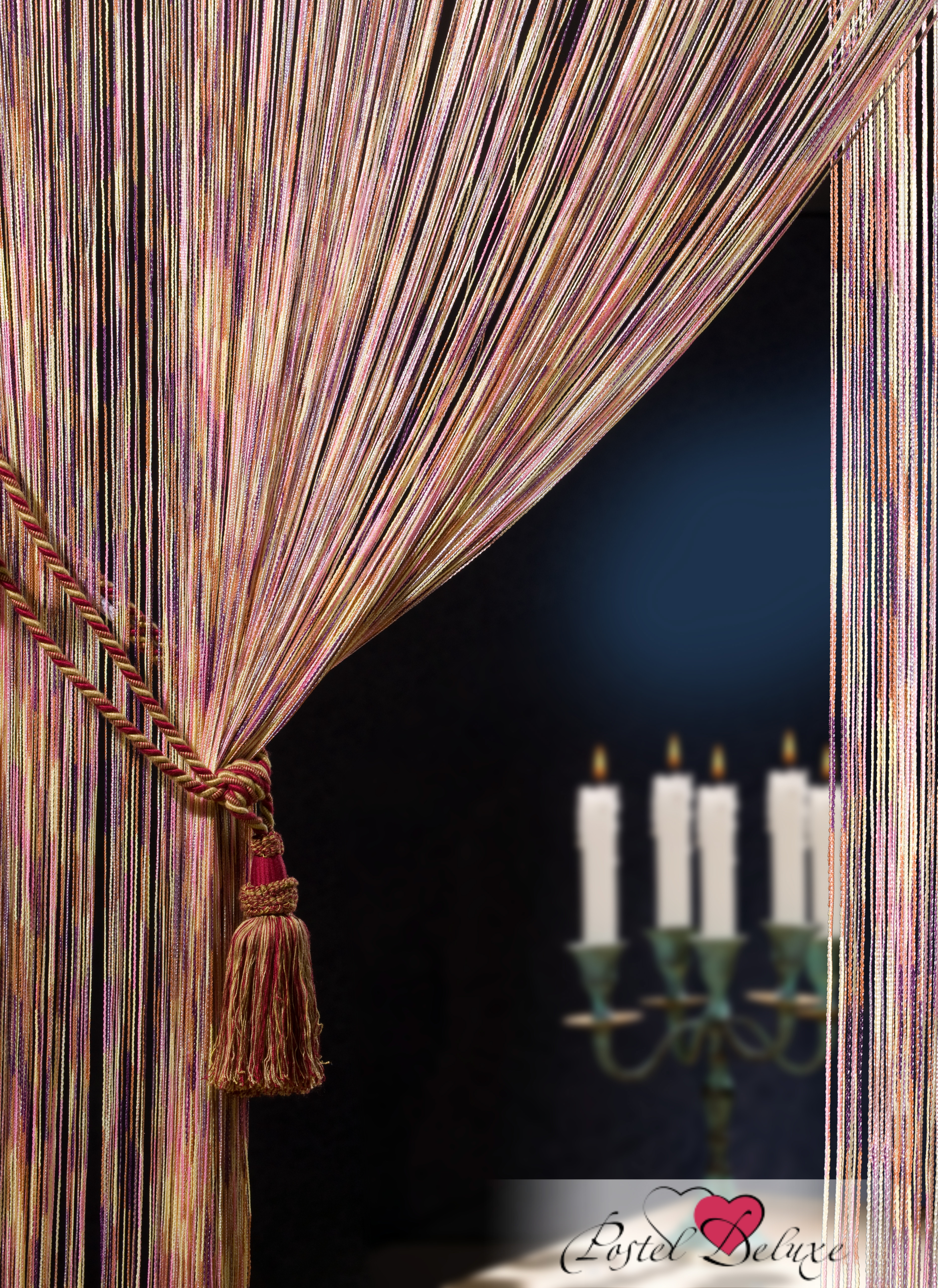Шторы HomeDeco Нитяные шторы Пестрое Настроение шторы homedeco нитяные шторы мудрость востока цвет белый