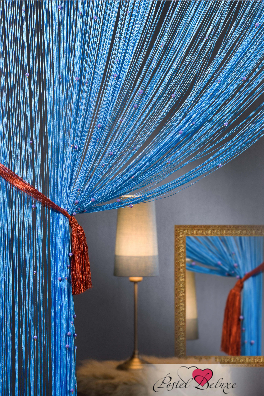 Шторы HomeDeco Нитяные шторы Бусинки Цвет: Голубой шторы homedeco нитяные шторы мудрость востока цвет белый