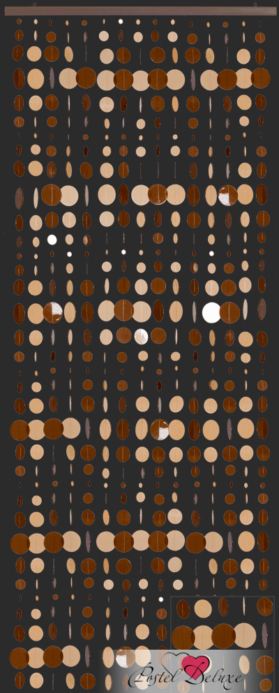 Шторы HomeDeco Нитяные шторы Яркие Кольца шторы homedeco нитяные шторы мудрость востока цвет белый