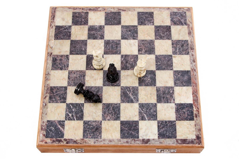 Шахматы Shari (4х25х25 см) фото