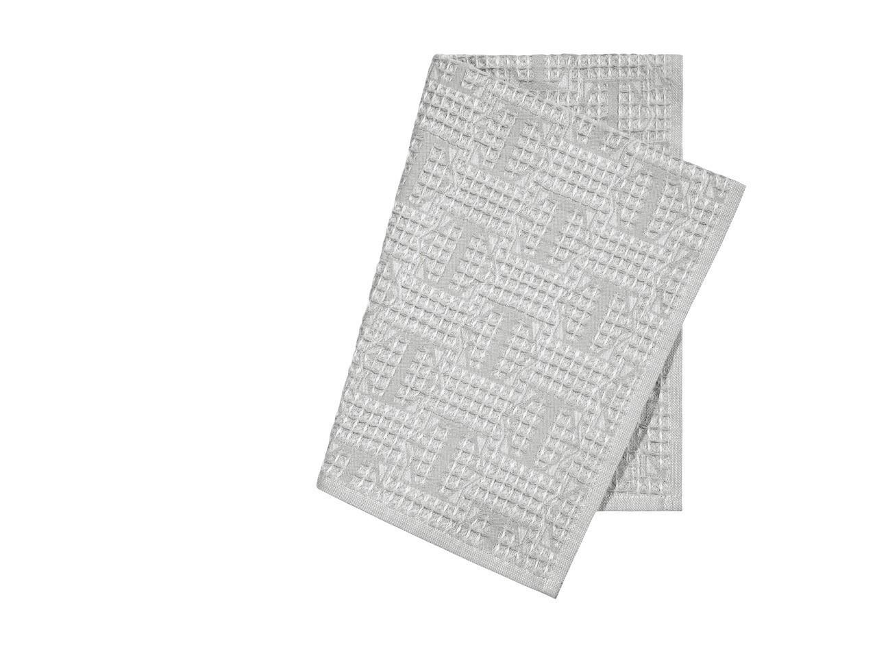 Полотенца Togas Кухонное полотенце Арно Цвет: Светло-Серый (40х60 см - 2 шт)