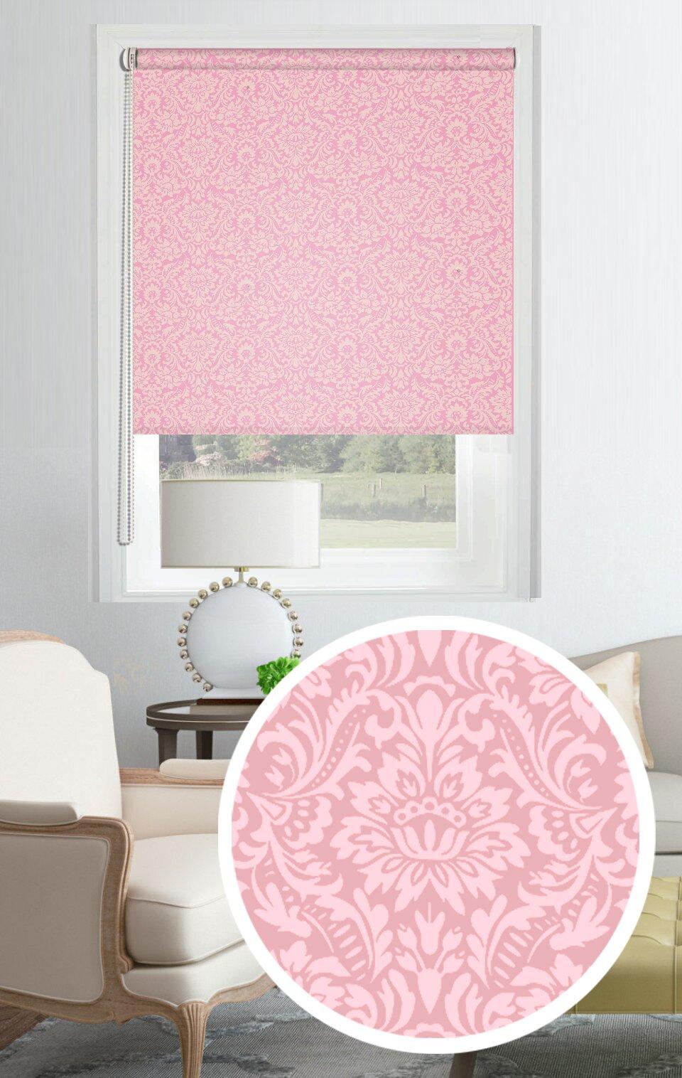 Рулонные шторы Amittai Цвет: Розовый фото