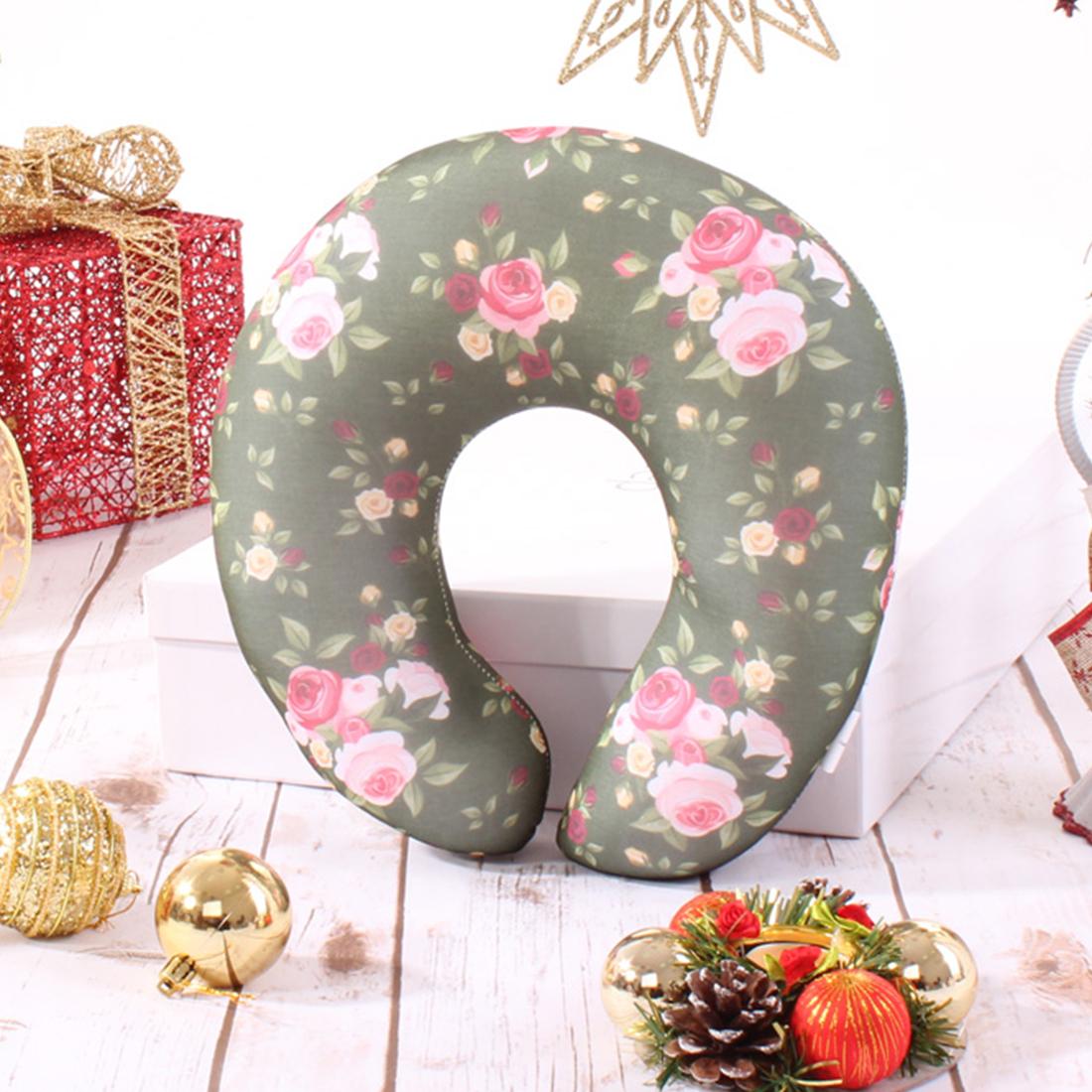 Декоративная подушка Нежные Цветы Цвет: Зеленый (29х29) фото