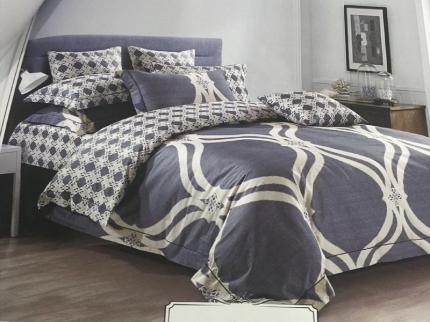 Комплекты постельного белья DO'n'CO, Постельное белье Elit (1, 5 спал.), Турция, Сиреневый, Хлопковый сатин  - Купить