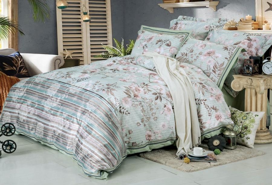 Комплекты постельного белья СайлиД Постельное белье Baldwin D-179 (2 сп. евро) постельное белье сайлид евро d 156