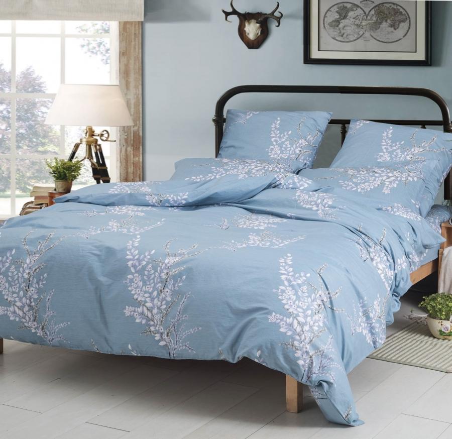 Купить Комплекты постельного белья СайлиД, Постельное белье Lindy A-183 (2 сп. евро), Китай, Поплин