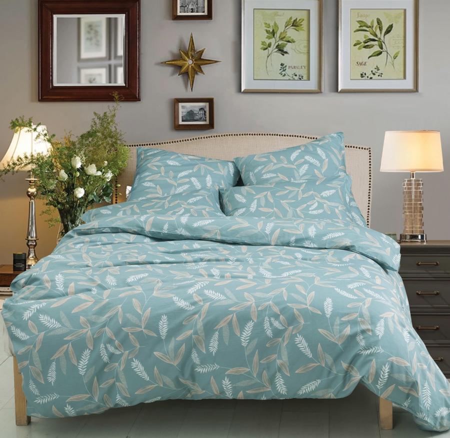 Комплекты постельного белья СайлиД, Постельное белье Innes A-184 (семейное), Китай, Поплин  - Купить