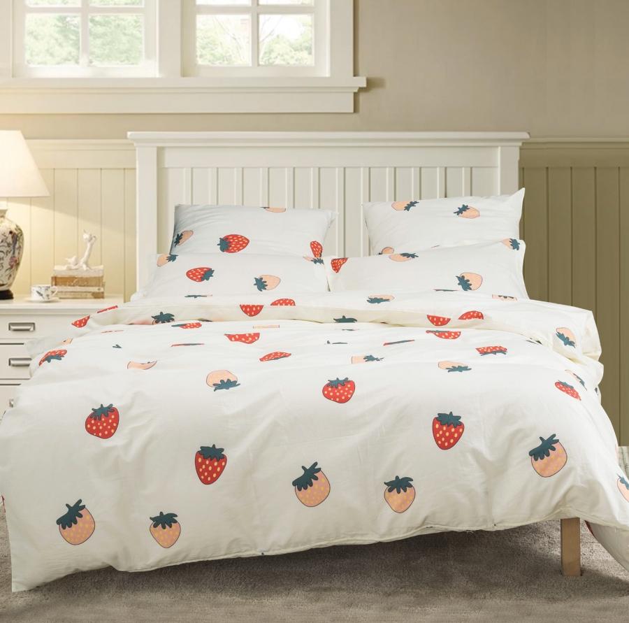 Купить Комплекты постельного белья СайлиД, Постельное белье Ona A-187 (2 сп. евро), Китай, Поплин