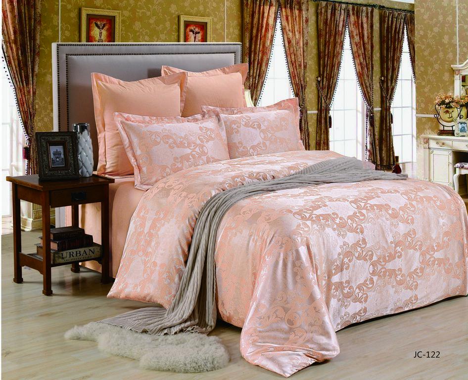Купить Комплекты постельного белья Valtery, Постельное белье Miya (2 спал.), Китай, Персиковый, Розовый, Хлопковый сатин