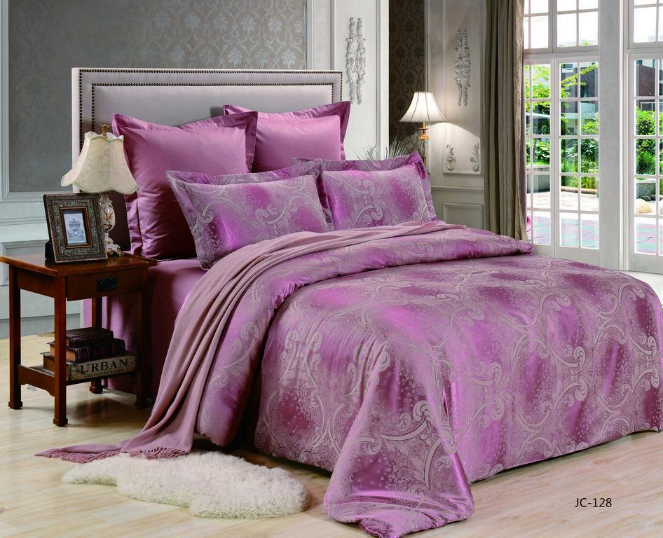 Купить Комплекты постельного белья Valtery, Постельное белье Sanne (2 спал.), Китай, Фиолетовый, Хлопковый сатин