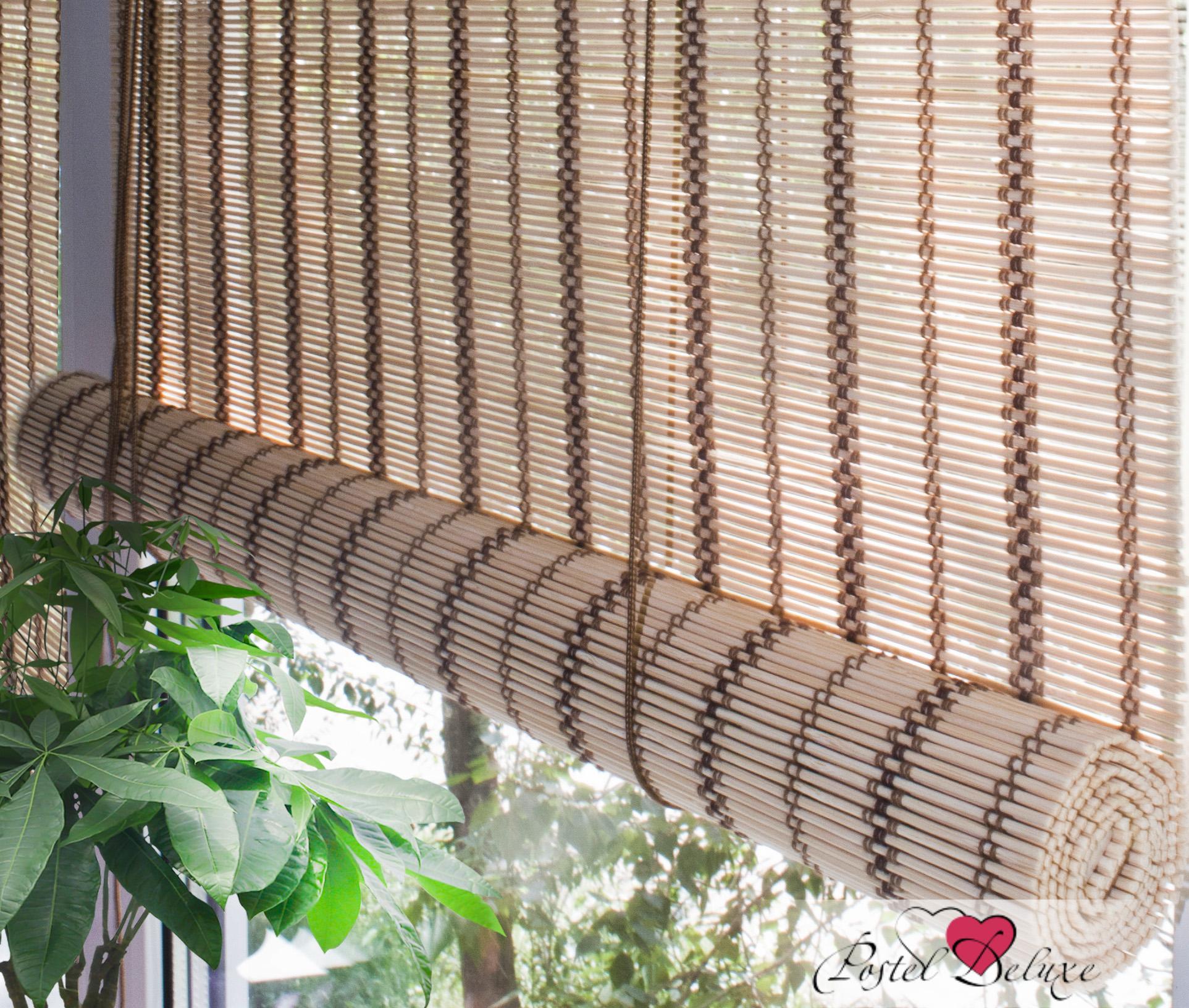 Римские и рулонные шторы Эскар Рулонные шторы Ballard Цвет: Золотой Бежевый