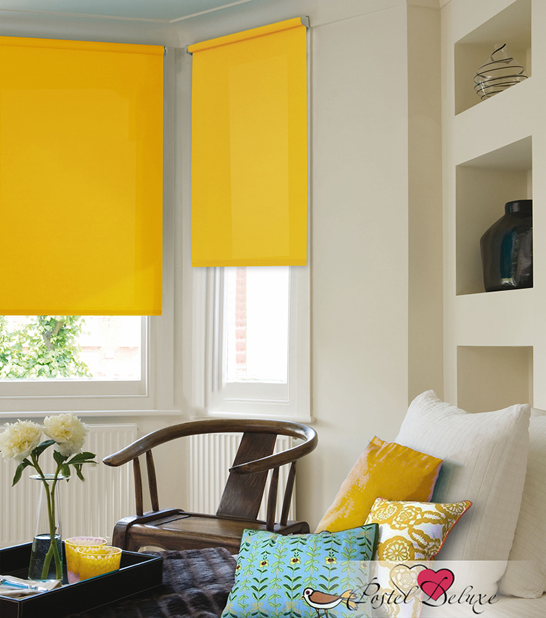 Рулонные шторы Julia Цвет: Желтый