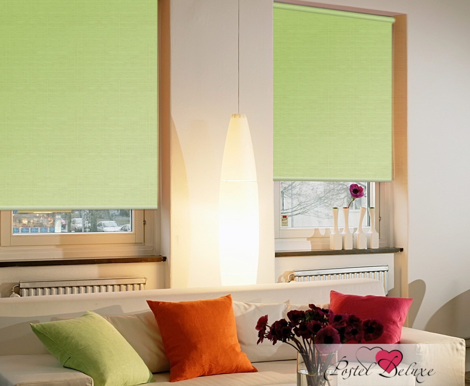 Рулонные шторы Dindraine Цвет: Светло-Зеленый фото