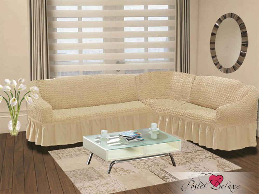 Чехол на диван угловой Цвет: Натурал