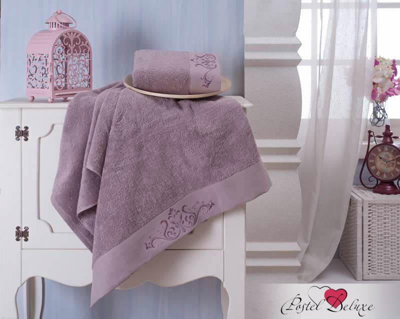 Полотенца Karna, Полотенце Velsen Цвет: Фиолетовый (Набор), Турция, Махра  - Купить