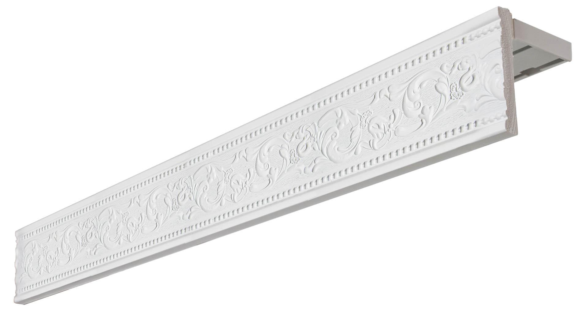 Карнизы и аксессуары для штор Уют Карниз Унисон Цвет: Белый (350 см)