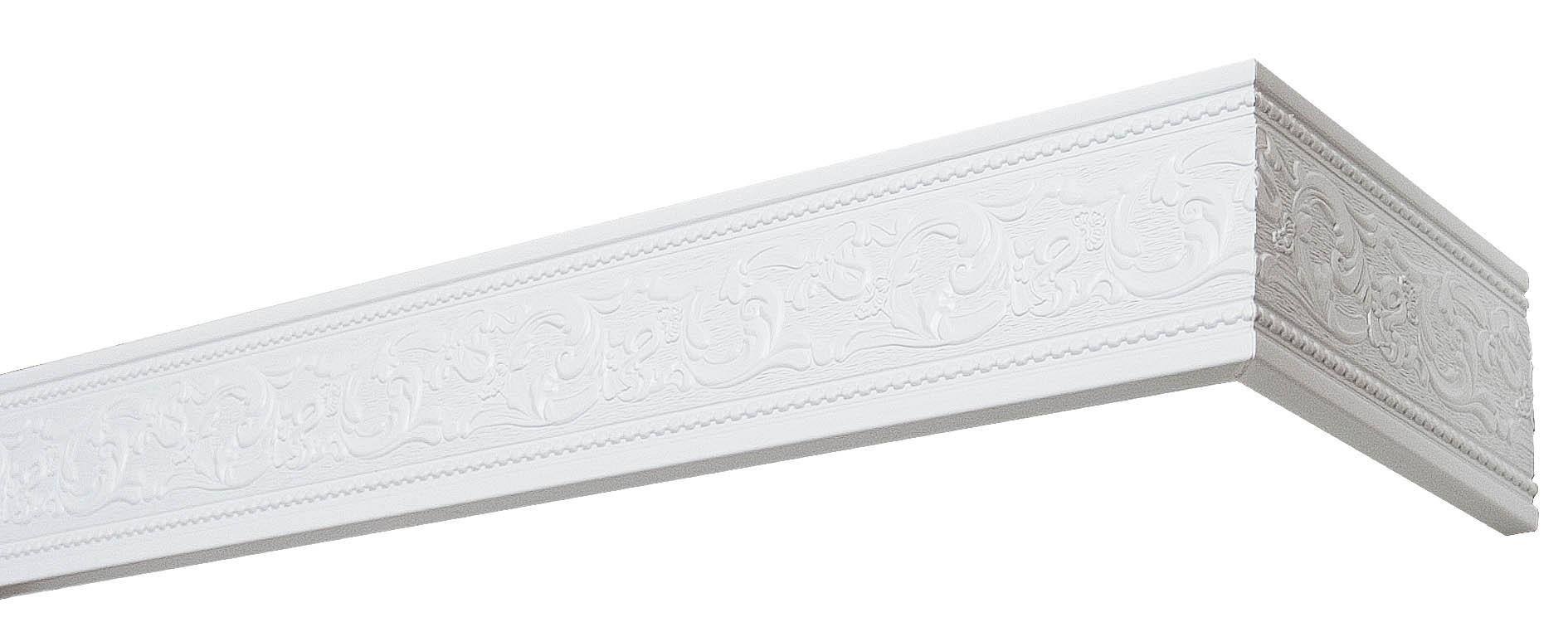Карнизы и аксессуары для штор Уют Карниз Унисон Цвет: Белый (240 см)