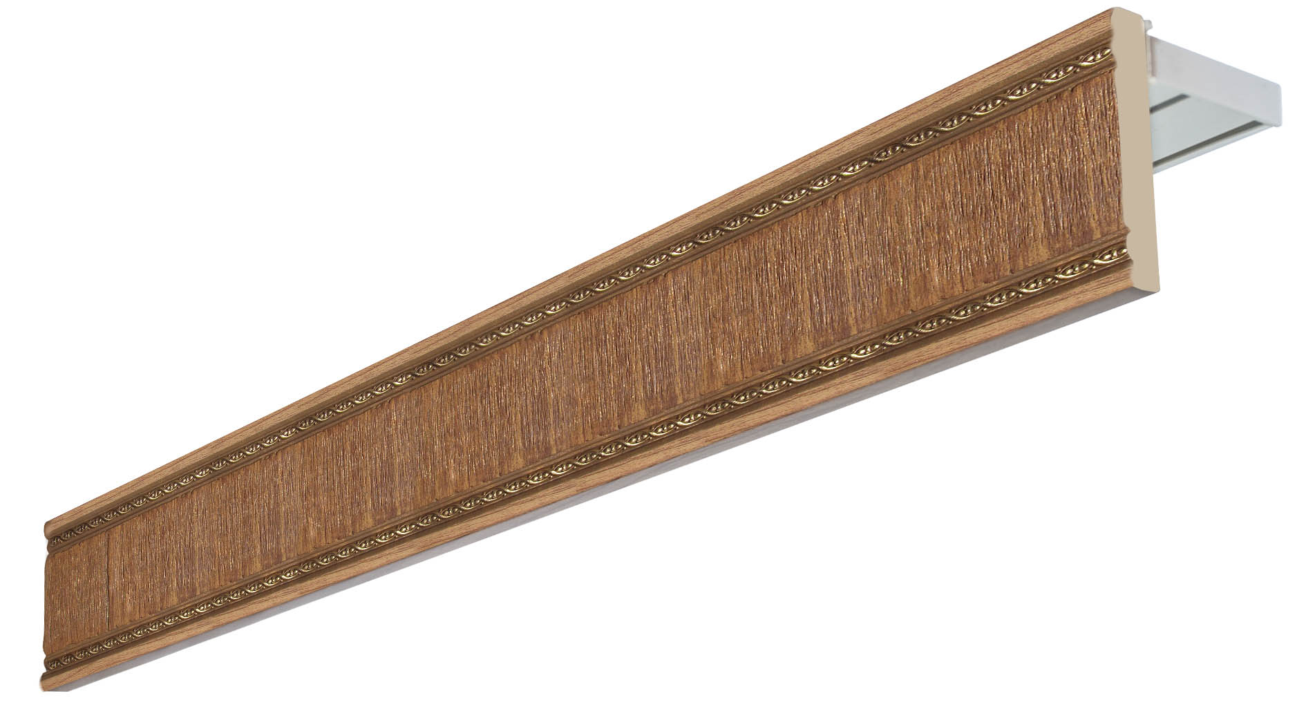 Карнизы и аксессуары для штор Уют Карниз Унисон Цвет: Дуб (350 см)