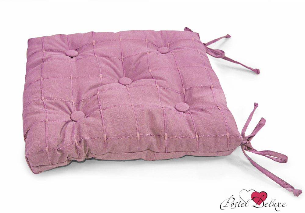 Купить Декоративные подушки Kauffort, Подушка на стул Kimberly Цвет: Сиреневый (40х40), Россия, Поликоттон