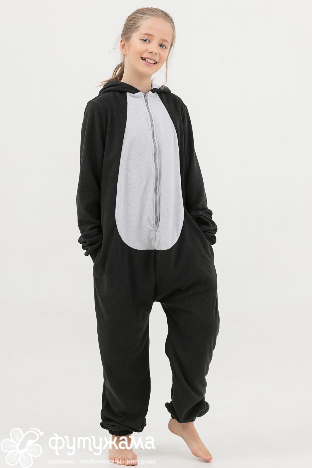 Детская пижама-кигуруми Пингвин (3-4 года) фото