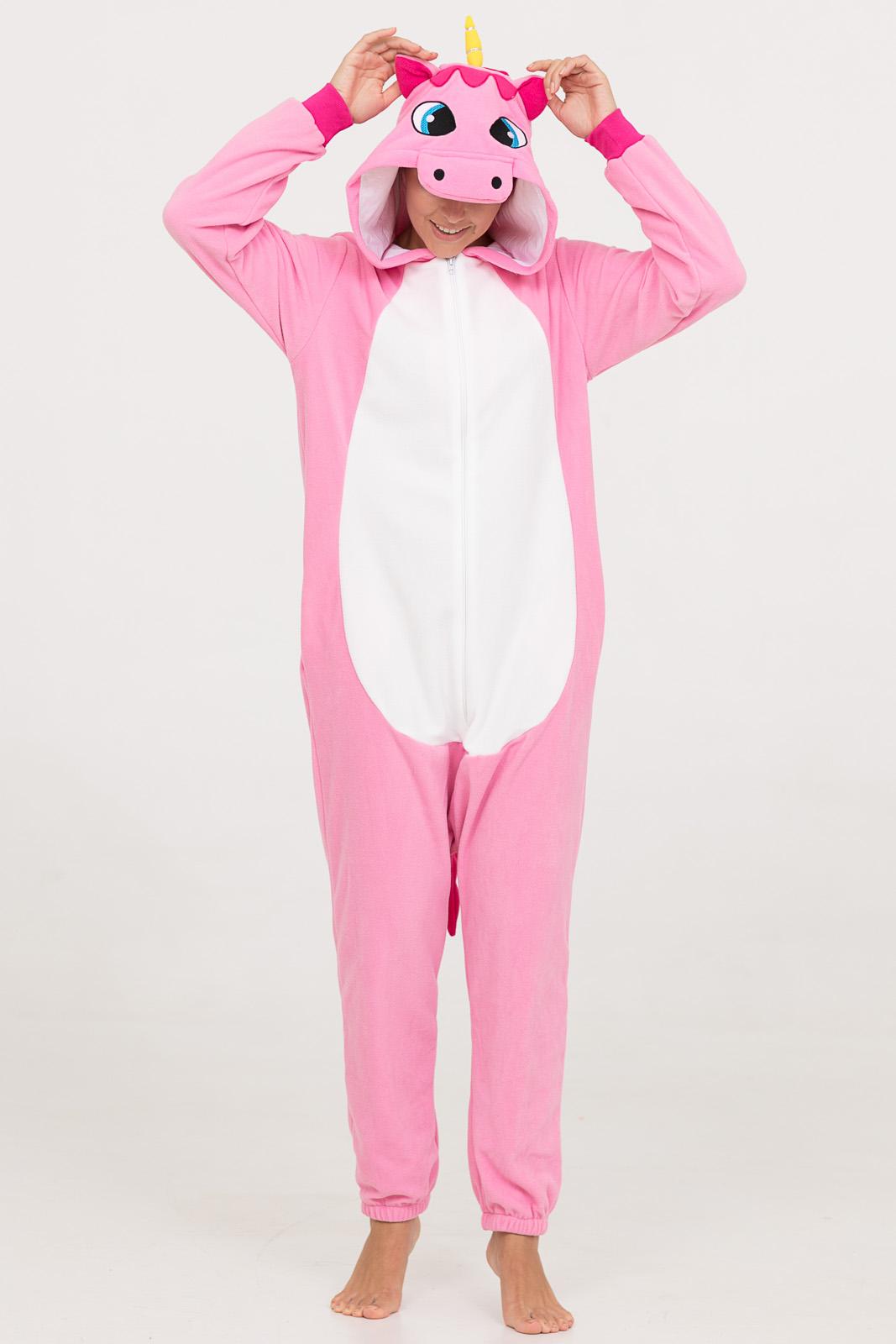 Пижама-кигуруми Розовый Единорог (46-48) фото
