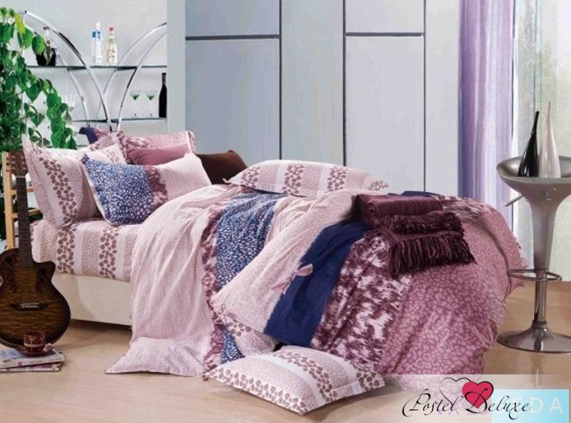 Купить Комплекты постельного белья SEDA, Постельное белье Mirabella (2 спал.), Китай, Розовый, Хлопковый сатин