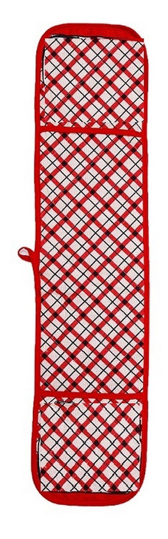 Прихватка Клетка цвет: красный (18х90 см)