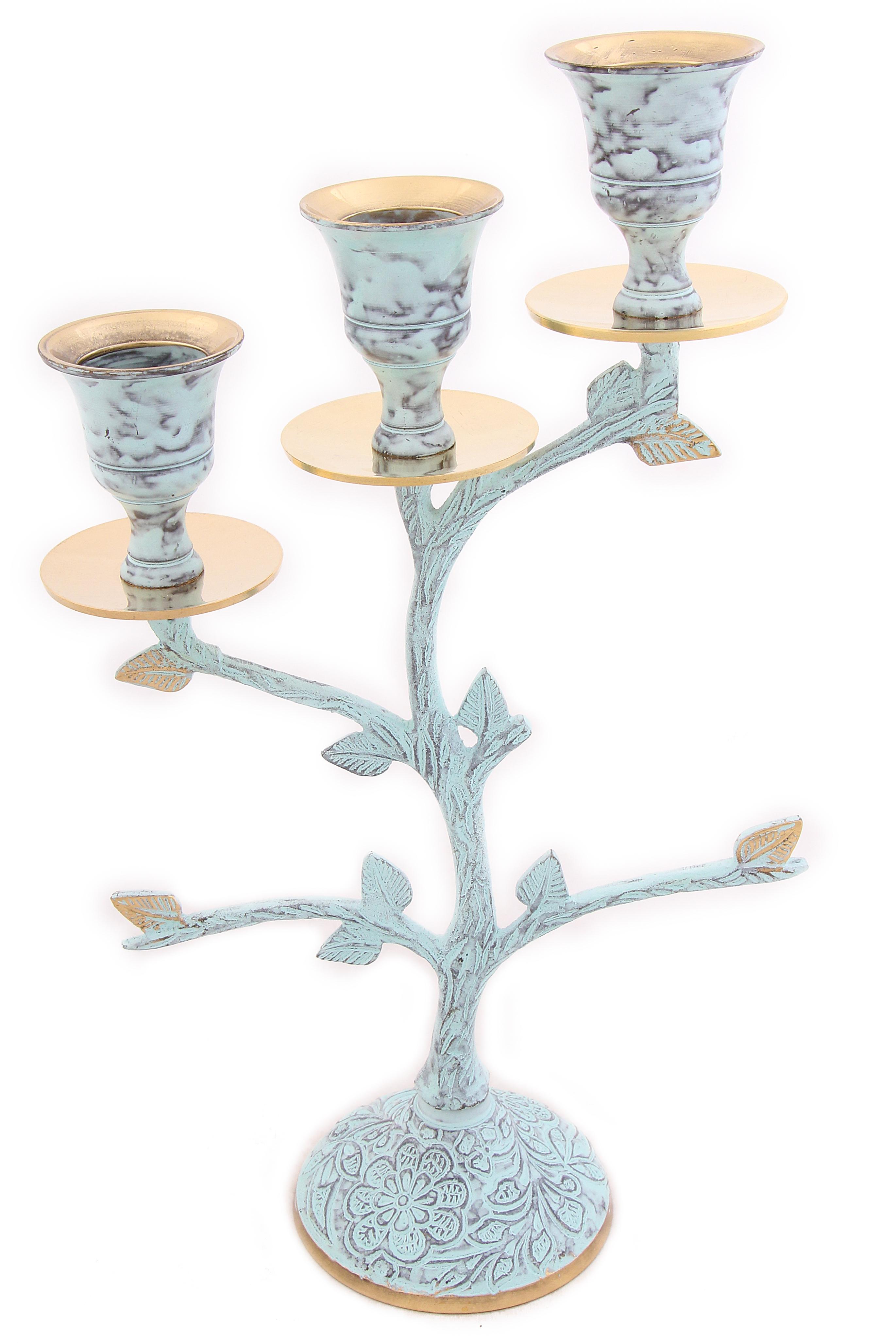 Декоративные свечи Ганг Подсвечник Cecilia (7х15х24 см) ганг зонтница shayna 30х30х60 см