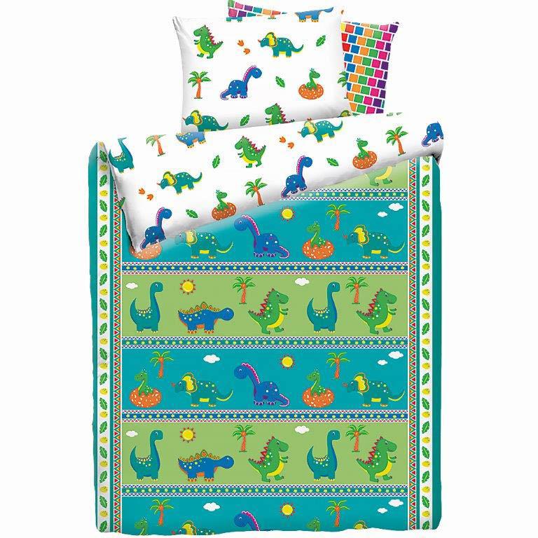детское постельное белье Mona Liza Постельное белье Дино (145х210 см) цена