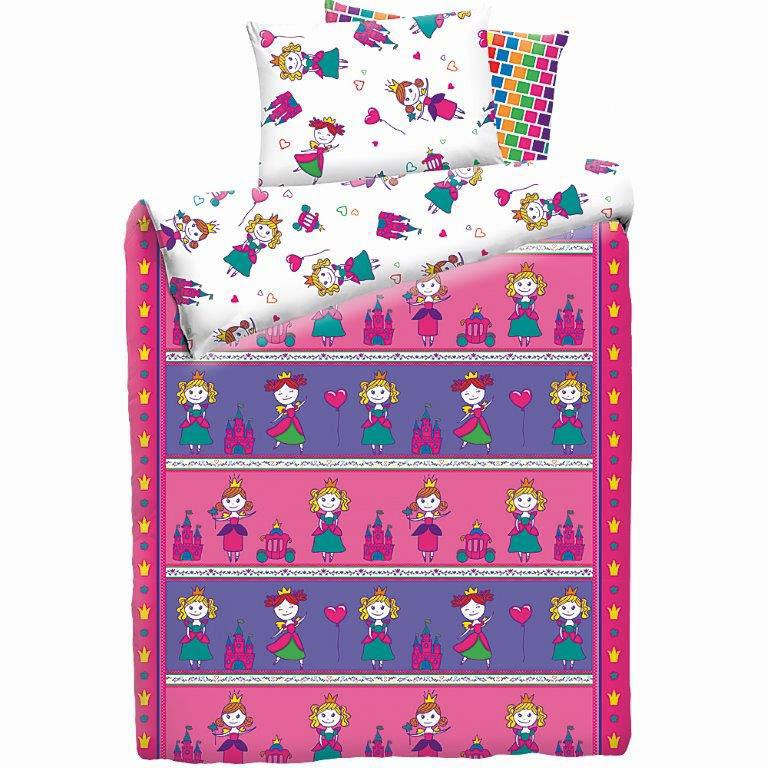 детское постельное белье Mona Liza Постельное белье Принцессы (145х210 см) цена