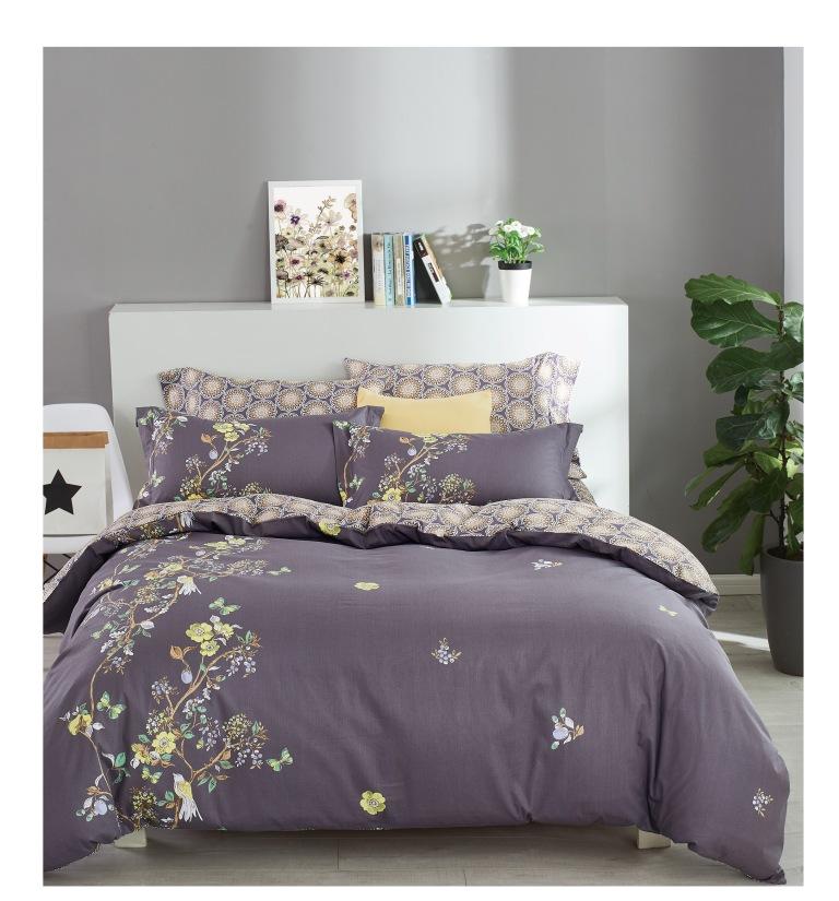 Купить Комплекты постельного белья Famille, Постельное белье Ryan (2 сп. евро), Китай, Хлопковый сатин