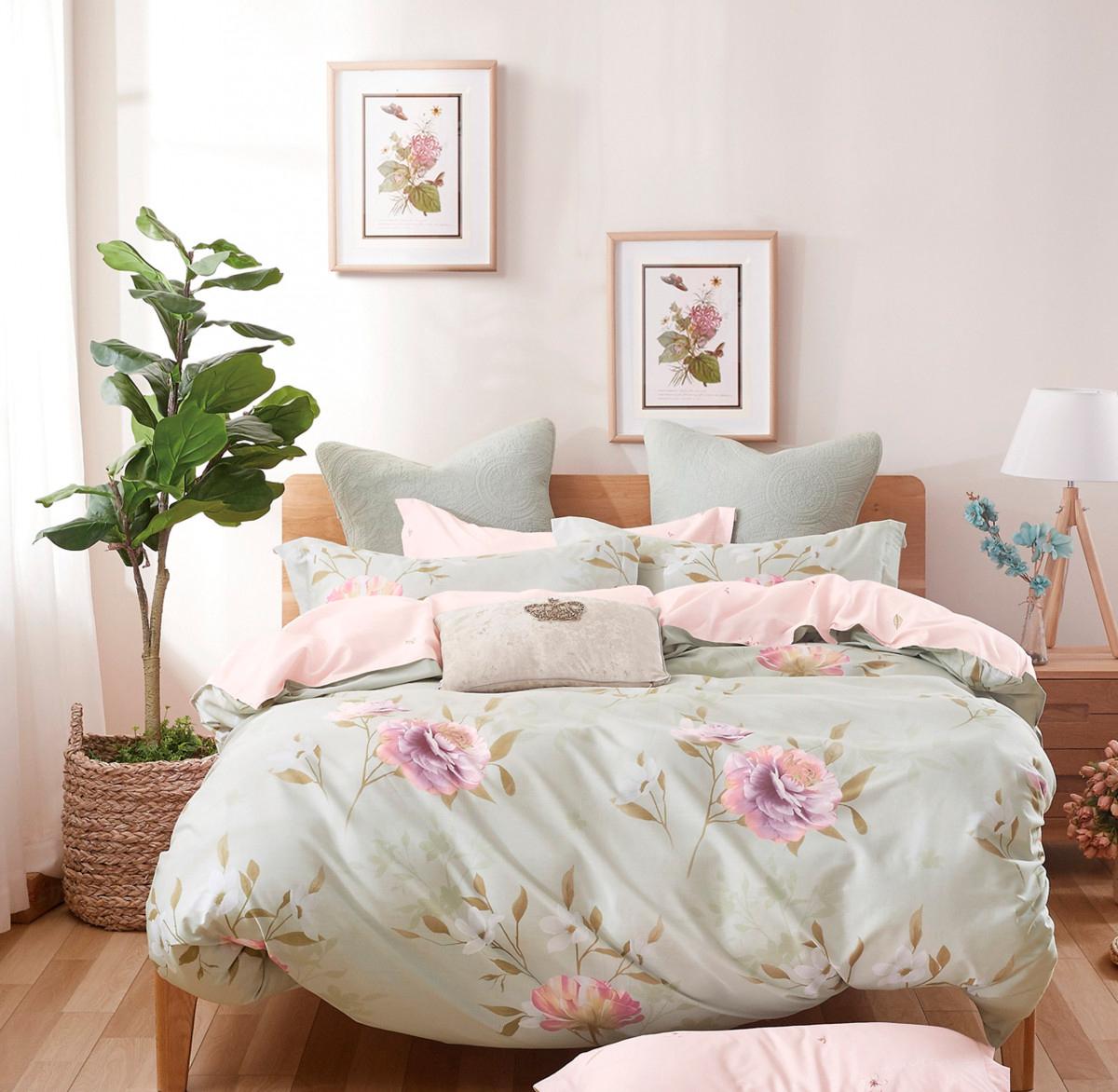 Купить Комплекты постельного белья Valtery, Постельное белье Louise (2 спал.), Китай, Хлопковый сатин
