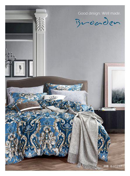 Купить Комплекты постельного белья Famille, Постельное белье Tyler (2 сп. евро), Китай, Бежевый, Хлопковый сатин
