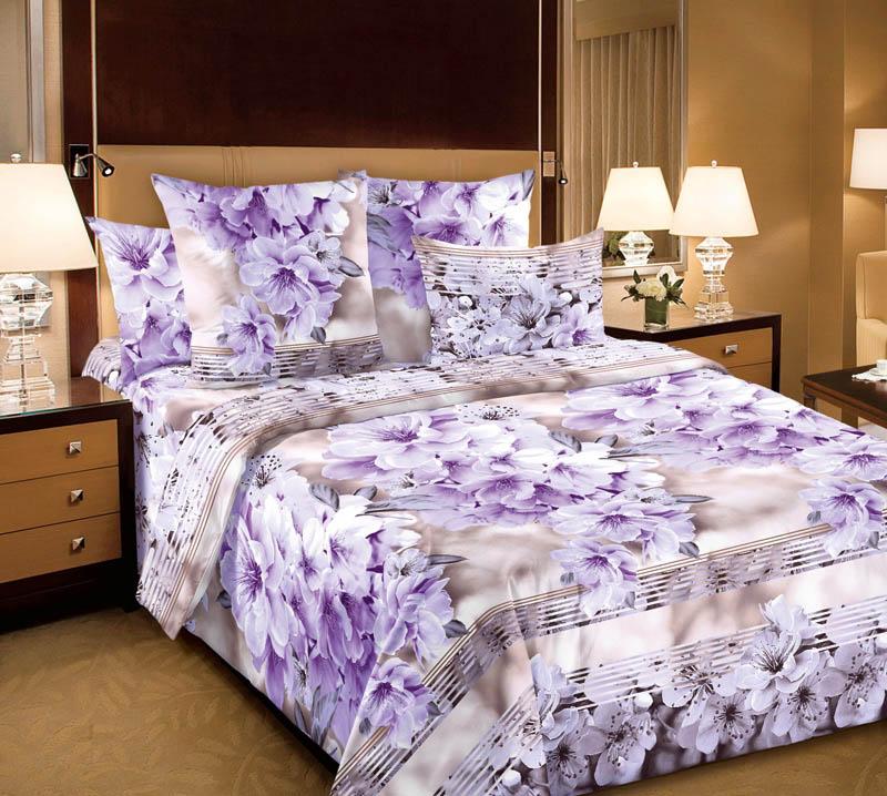 Комплекты постельного белья ТК Хлопковый Рай Постельное белье Утро (семейное)