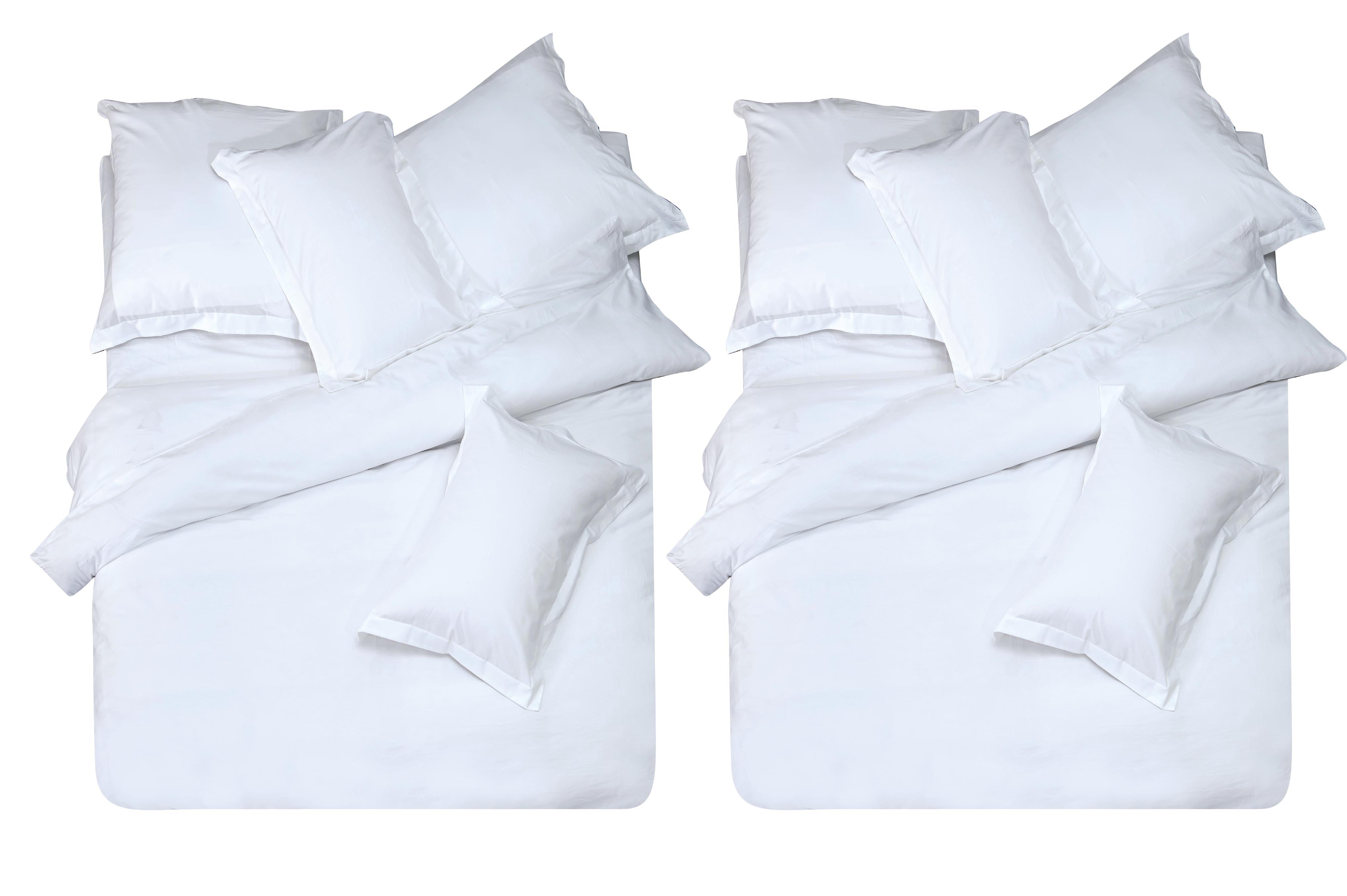 Купить Комплекты постельного белья СайлиД, Постельное белье Alysia L-14(2 спал.), Китай, Белый, Хлопковый сатин
