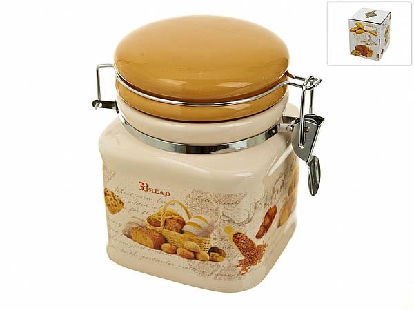 Хранение продуктов Polystar Банка для сыпучих Хлеб (10х10х13 см) банка 500 мл polystar банка 500 мл