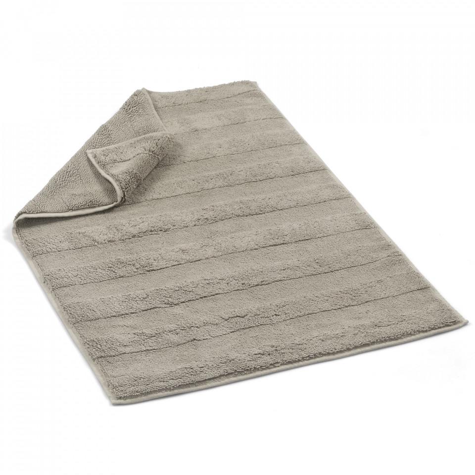 Купить Коврики для ванной и туалета CASUAL AVENUE, Коврик для ванной Lane Цвет: Серый (60х90 см), Турция, Махра