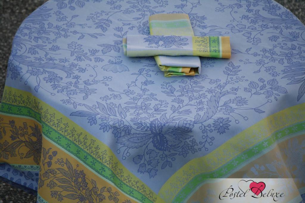 Купить Скатерти и салфетки Lencera, Скатерть Cotignac Цвет: Голубой (160х250 см), Испания, Жаккард