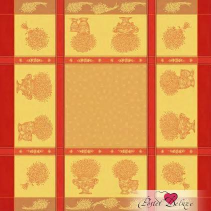 Купить Скатерти и салфетки Lencera, Скатерть Valayans Цвет: Терракотовый (160х250 см), Испания, Оранжевый, Жаккард