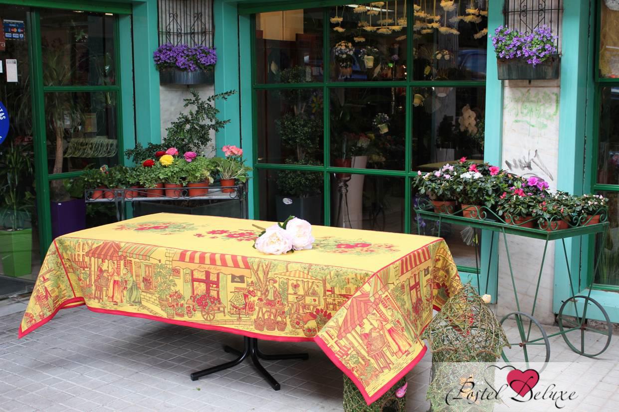 Купить Скатерти и салфетки Lencera, СкатертьMarche Молодые Цветы(160х160 см), Испания, Жаккард