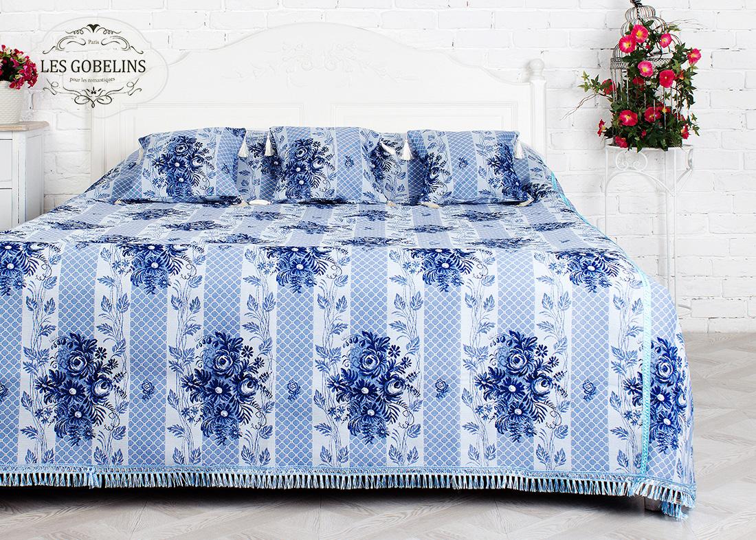 Пледы и покрывала Les Gobelins Покрывало на кровать Gzhel (240х260 см) покрывало les gobelins покрывало на кровать art floral 260х230 см