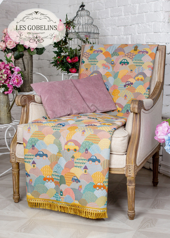 Покрывала, подушки, одеяла для малышей Les Gobelins Детская Накидка на кресло Clippers (70х120 см) покрывало les gobelins накидка на кресло zigzag 50х160 см