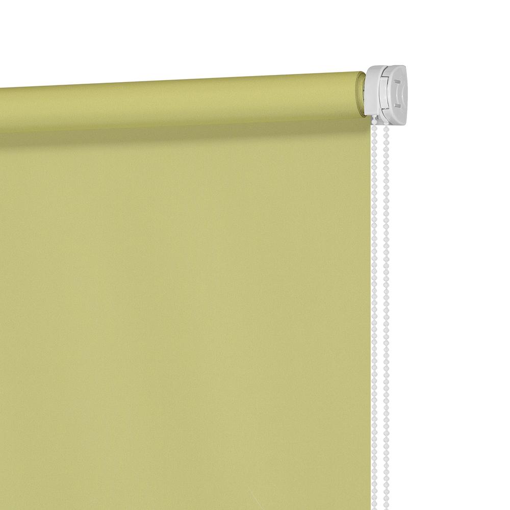 Рулонные шторы Однотонный Цвет: Лайм