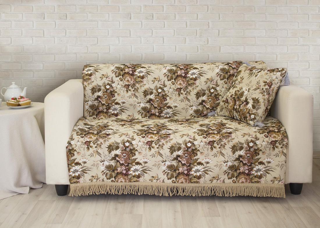 Пледы и покрывала Les Gobelins Накидка на диван Terrain Russe (150х170 см) покрывало les gobelins накидка на диван labyrinthe 160х230 см