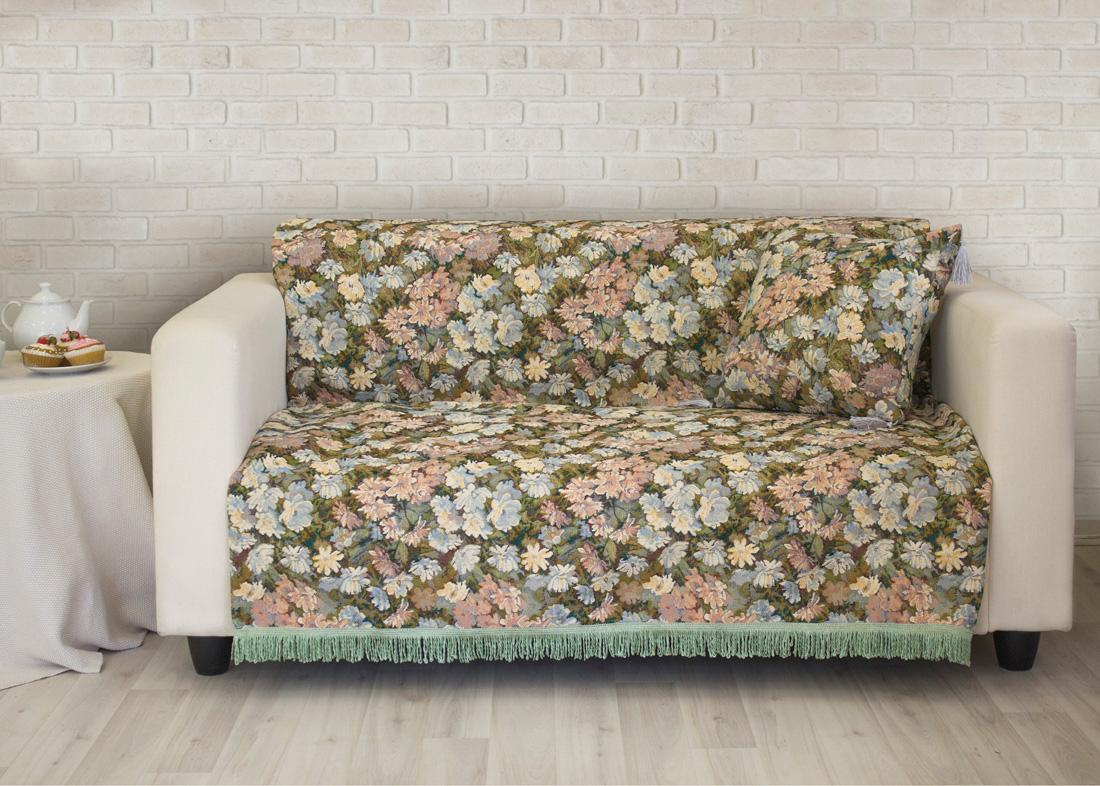 Пледы и покрывала Les Gobelins Накидка на диван Nectar De La Fleur (160х220 см) les gobelins les gobelins накидка на диван bouquet francais 150х190 см
